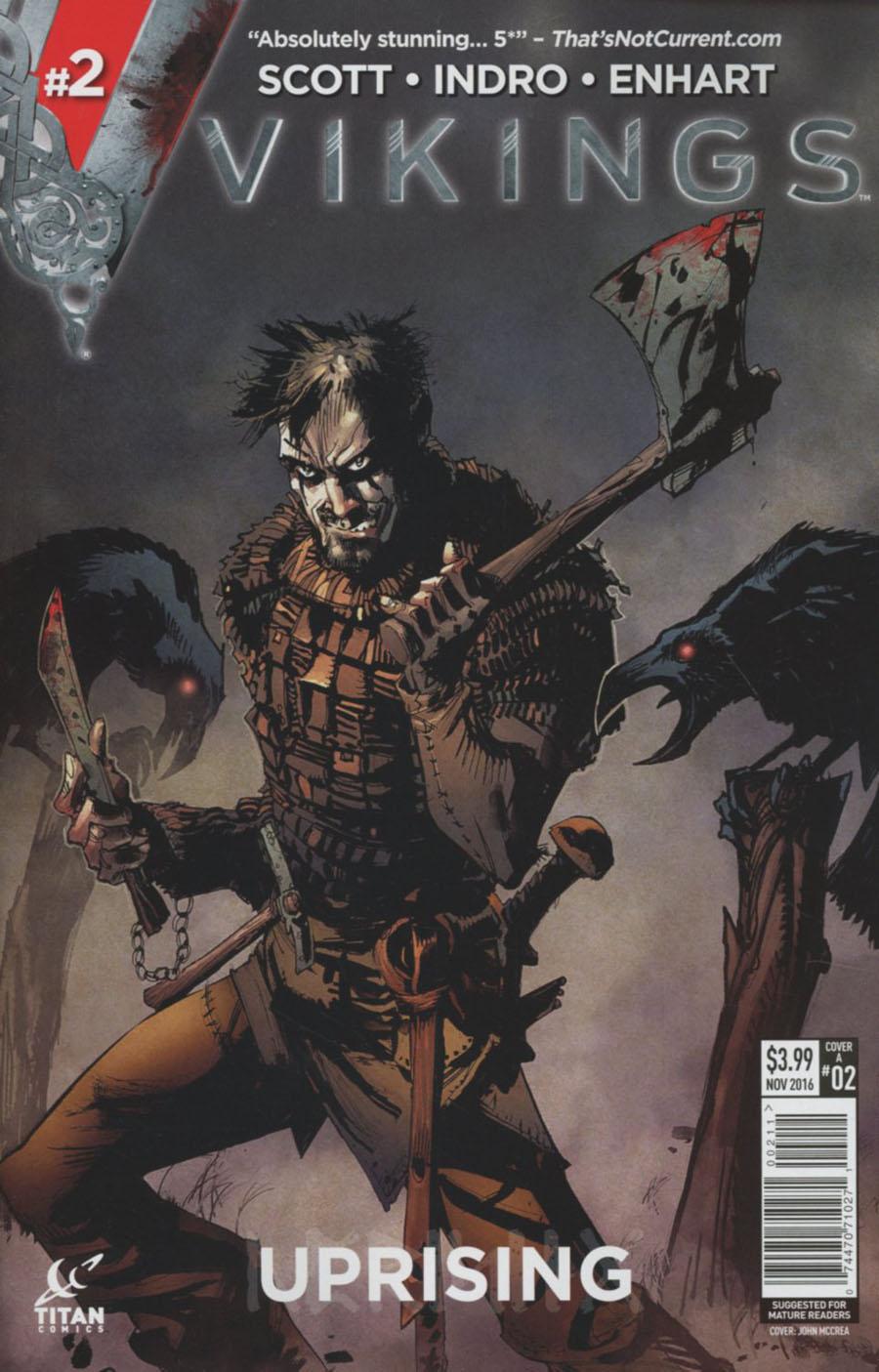 Vikings Uprising #2 Cover A Regular John McCrea Cover