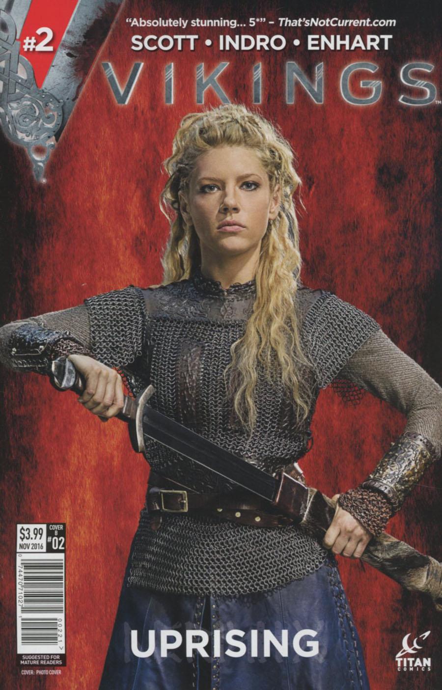 Vikings Uprising #2 Cover B Variant Photo Cover