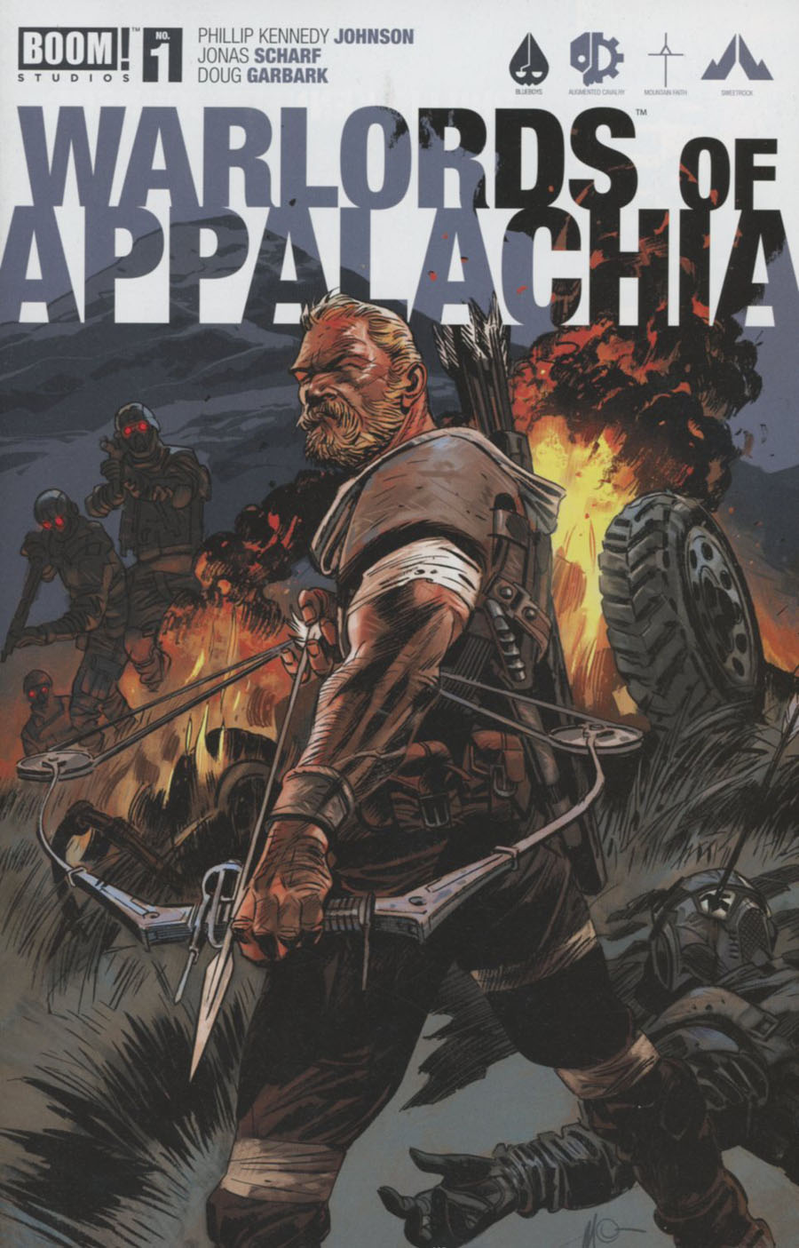 Warlords Of Appalachia #1 Cover A Regular Massimo Carnevale Cover
