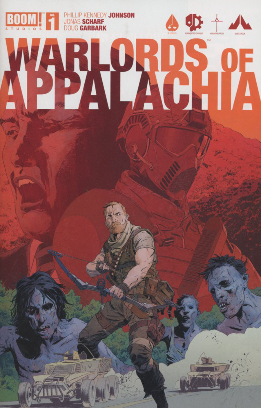Warlords Of Appalachia #1 Cover B Variant Robert Sammelin Cover
