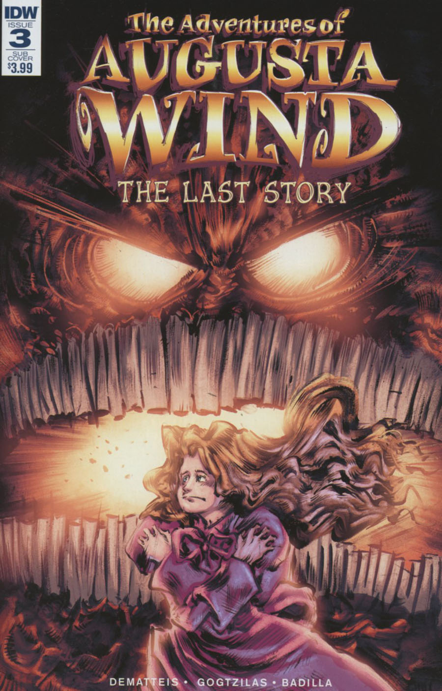 Adventures Of Augusta Wind Vol 2 Last Story #3 Cover B Variant Vassilis Gogtzilas Subscription Cover