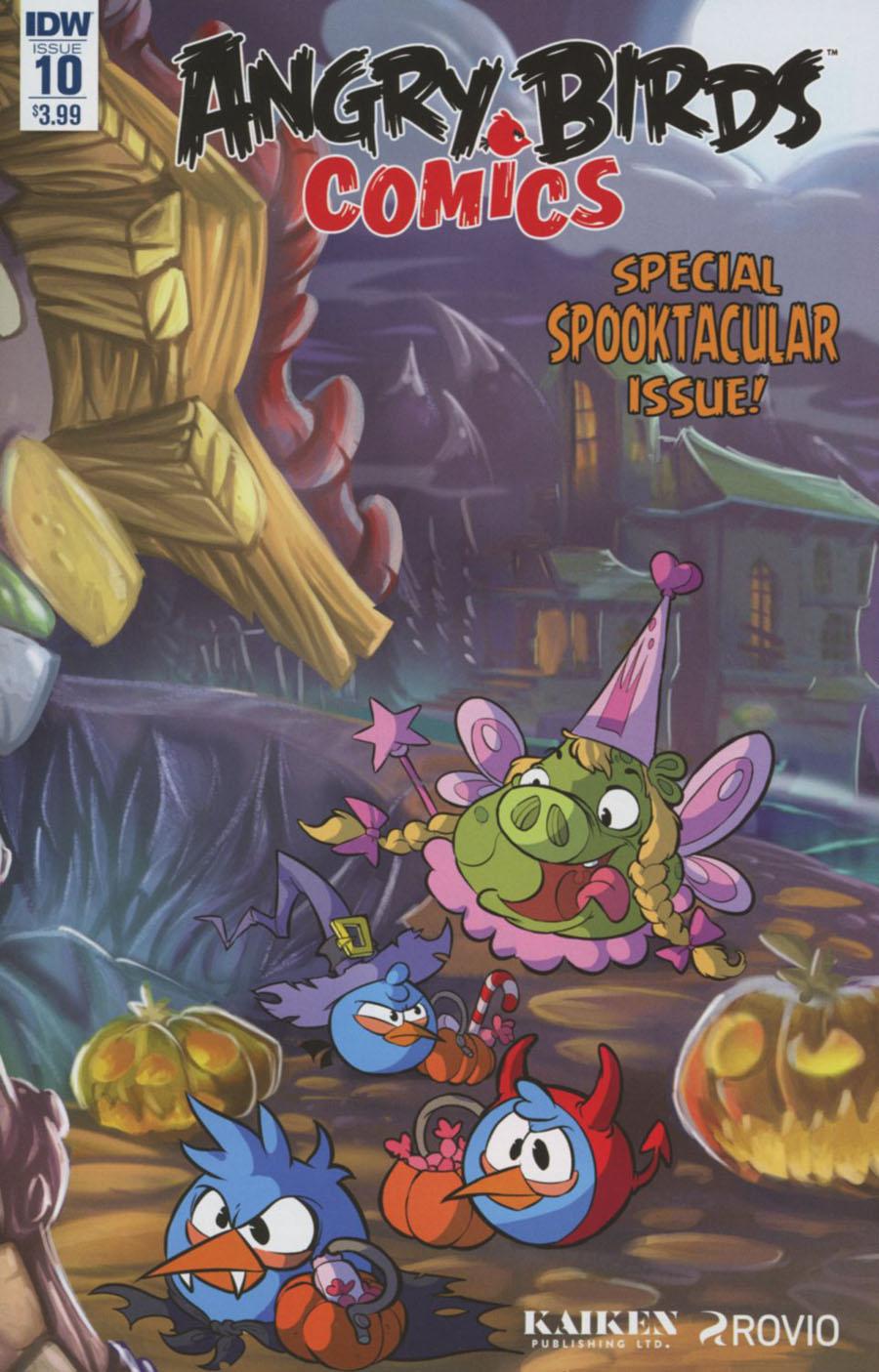 Angry Birds Comics Vol 2 #10 Cover A Regular Ciro Cangiolosi Cover