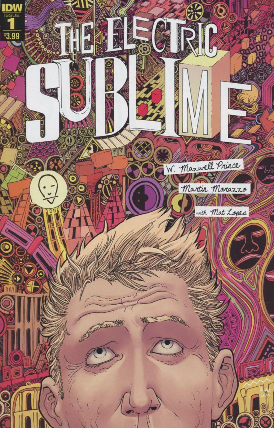 Electric Sublime #1 Cover A Regular Martin Morazzo Cover