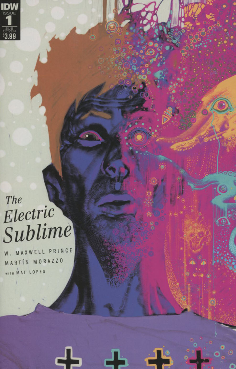 Electric Sublime #1 Cover B Variant Frazer Irving Subscription Cover