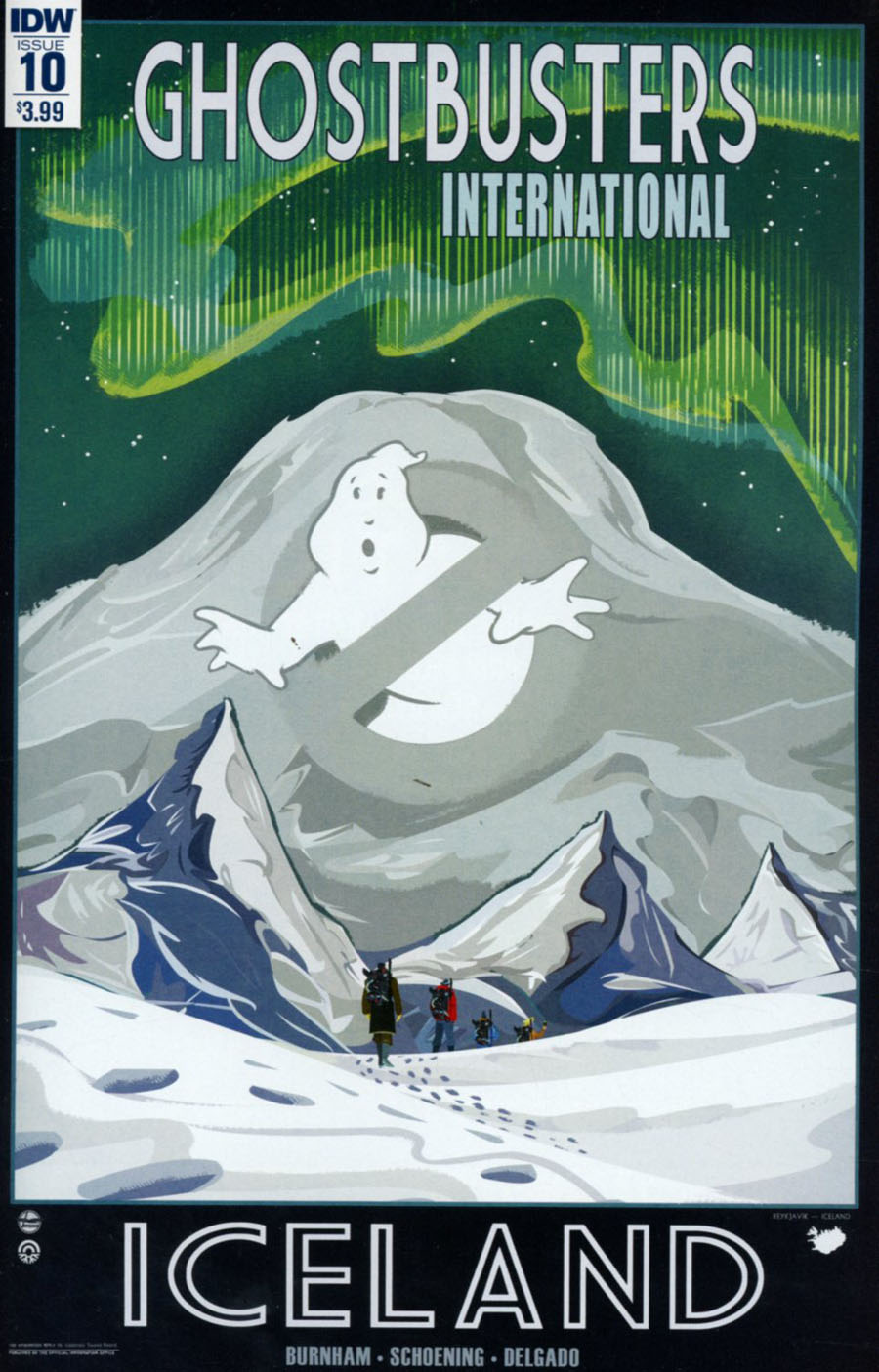 Ghostbusters International #10 Cover A Regular Dan Schoening Cover