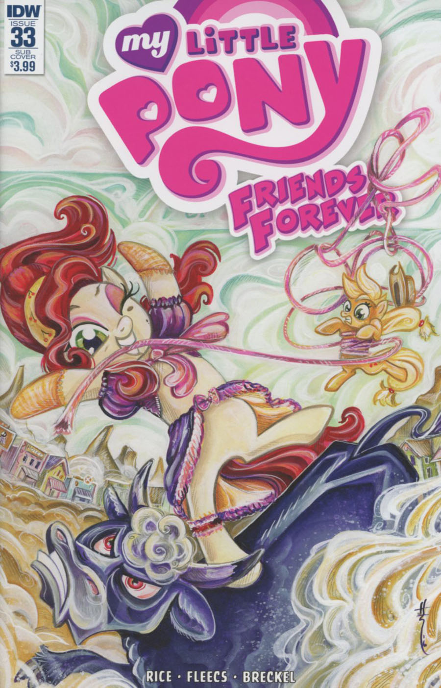 My Little Pony Friends Forever #33 Cover B Variant Sara Richard Subscription Cover