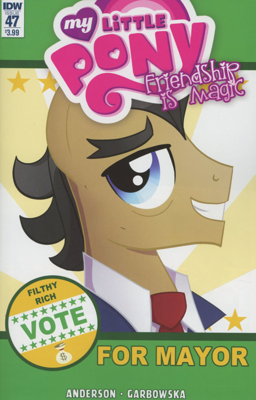My Little Pony Friendship Is Magic #47 Cover A Regular Agnes Garbowska Cover