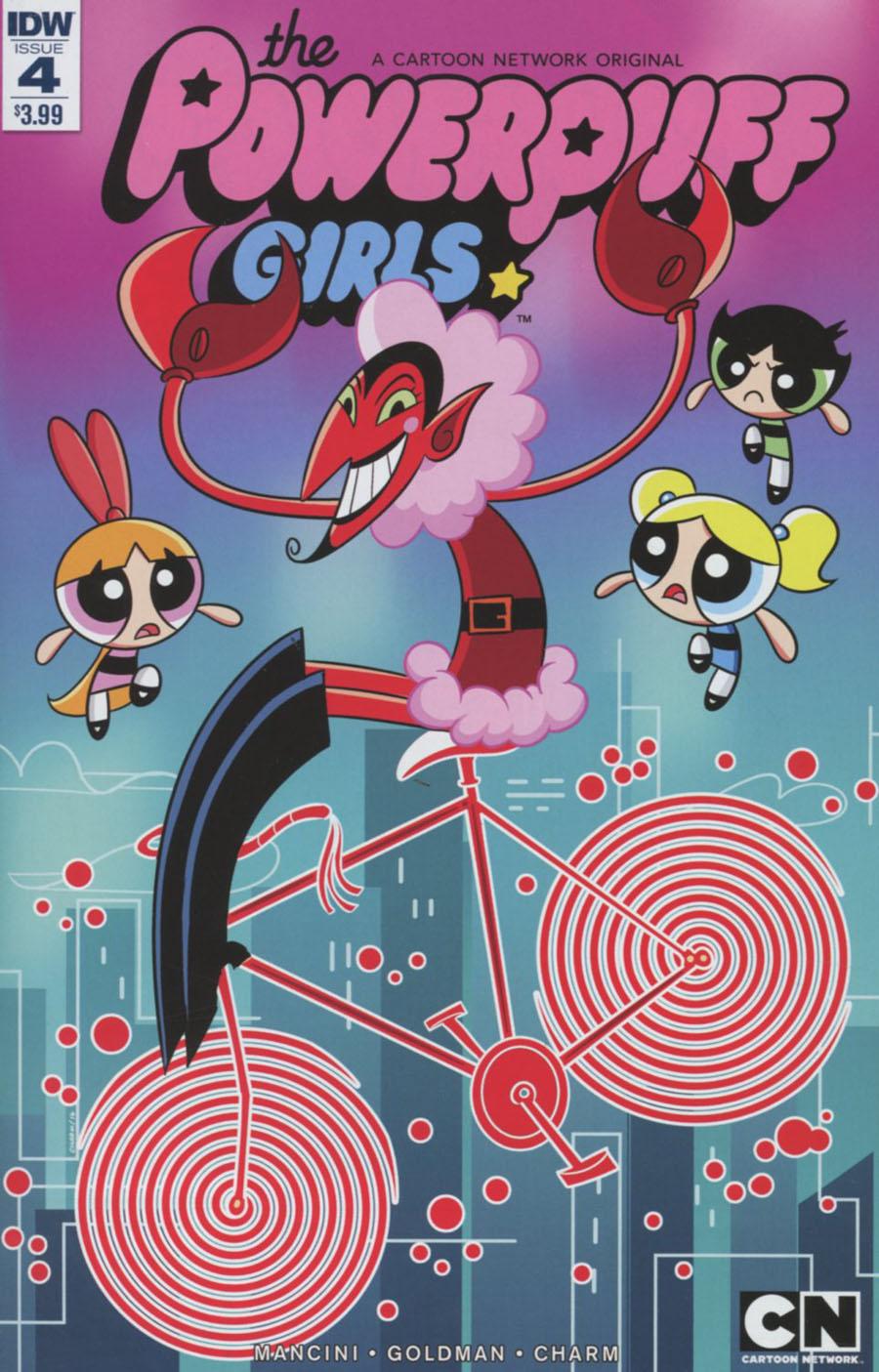 Powerpuff Girls Vol 3 #4 Cover A Regular Derek Charm Cover