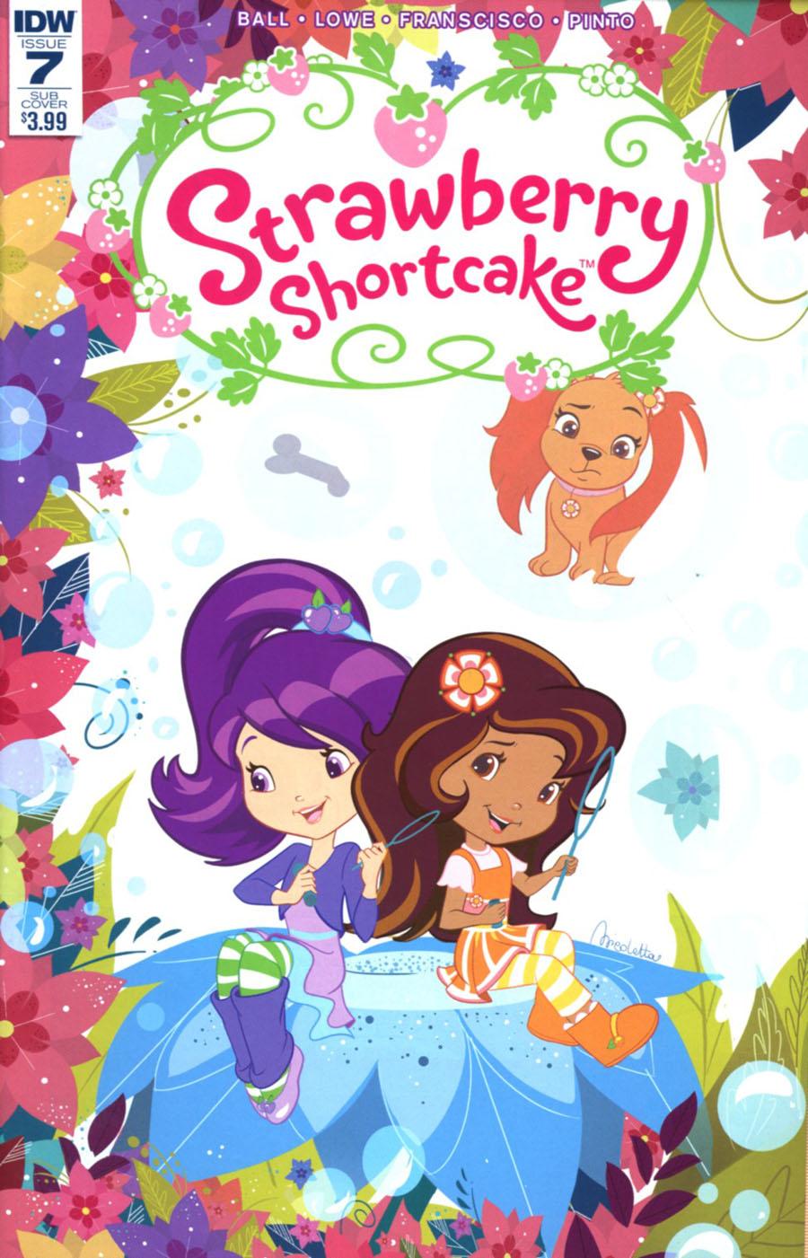 Strawberry Shortcake Vol 3 #7 Cover C Variant Nicoletta Baldari Subscription Cover