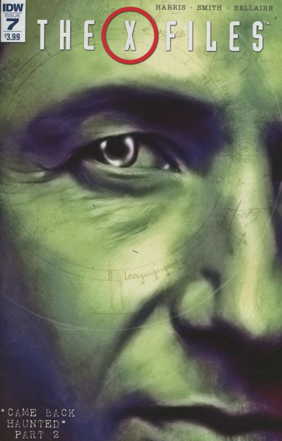 X-Files Vol 3 #7 Cover A Regular Menton3 Cover