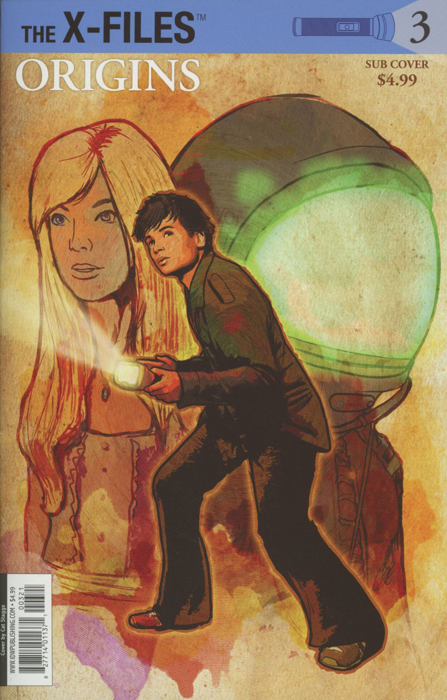 X-Files Origins #3 Cover B Variant Cat Staggs Subscription Cover