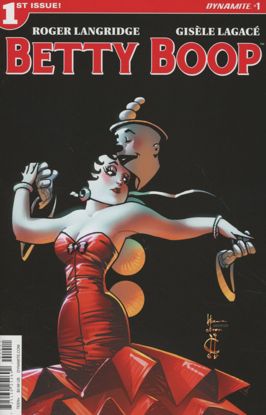 Betty Boop #1 Cover A Regular Howard Chaykin Cover