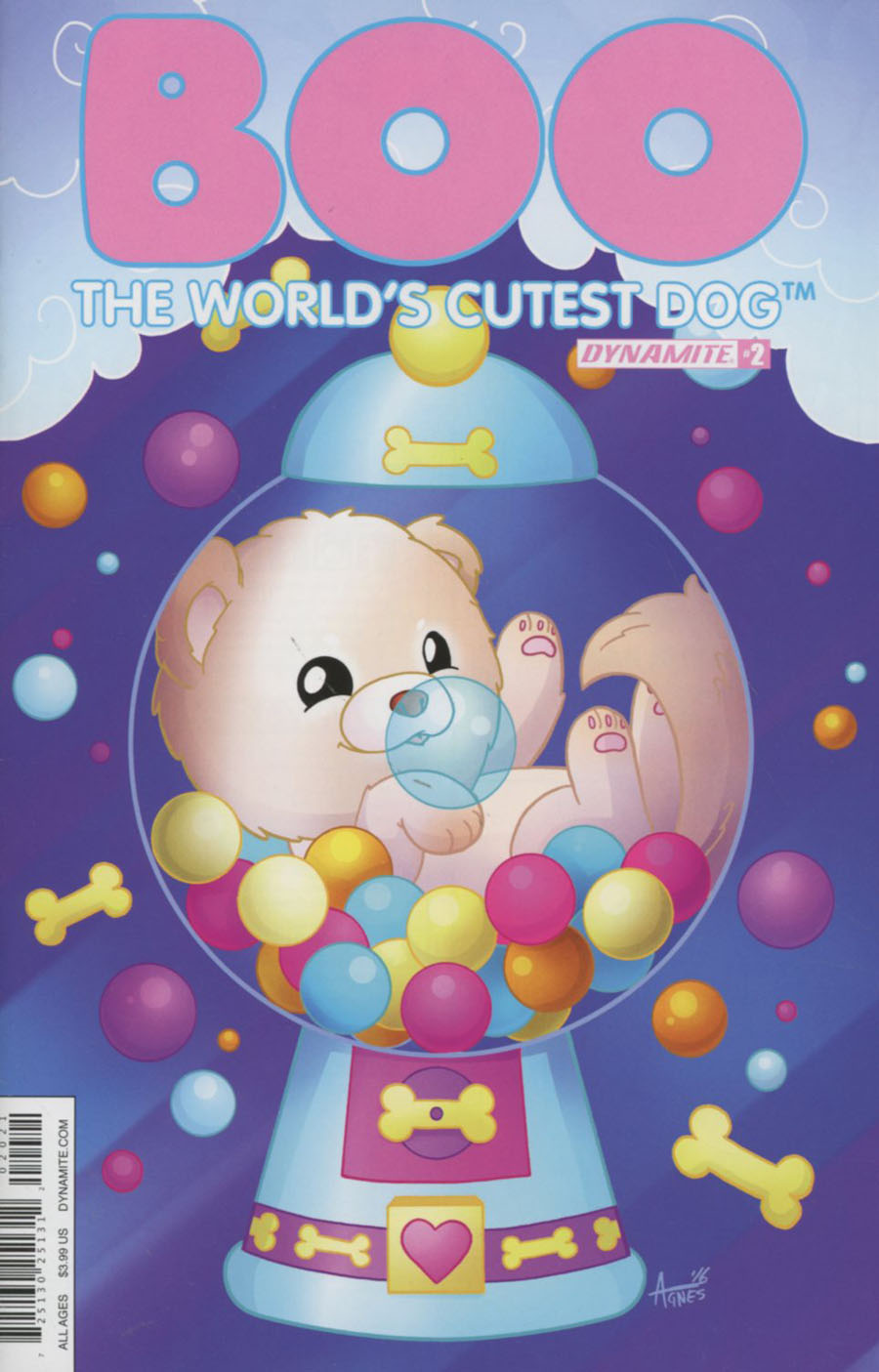 Boo Worlds Cutest Dog #2 Cover B Variant Agnes Garbowska Cover