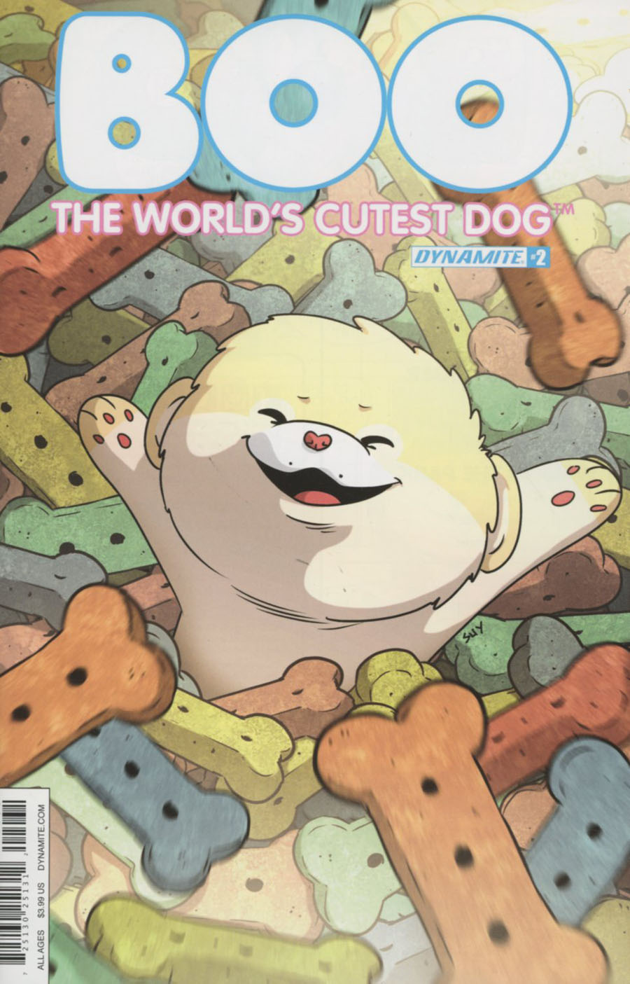 Boo Worlds Cutest Dog #2 Cover C Variant Steve Uy Cover