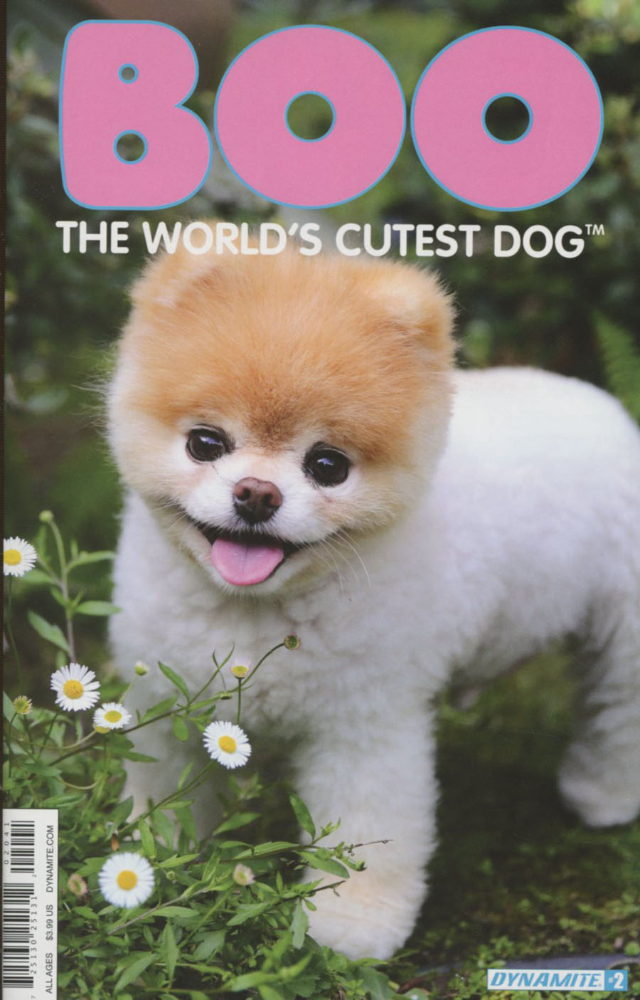 Boo Worlds Cutest Dog #2 Cover D Variant Photo Subscription Cover