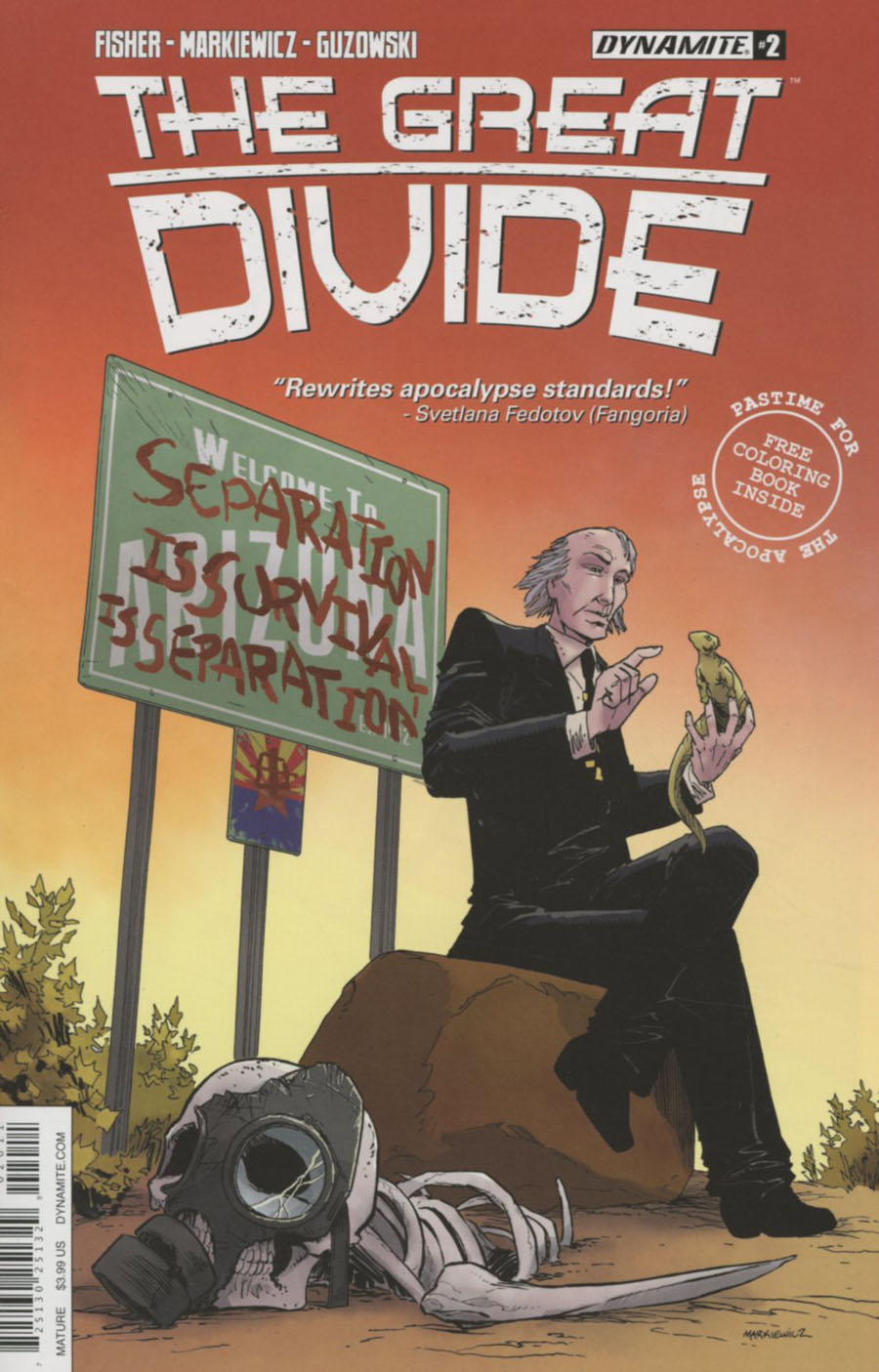 Great Divide #2 Cover A Regular Adam Markiewicz Cover
