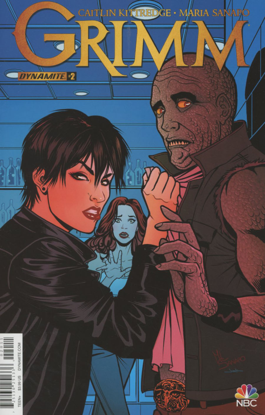 Grimm Vol 2 #2 Cover A Regular Maria Sanapo Cover