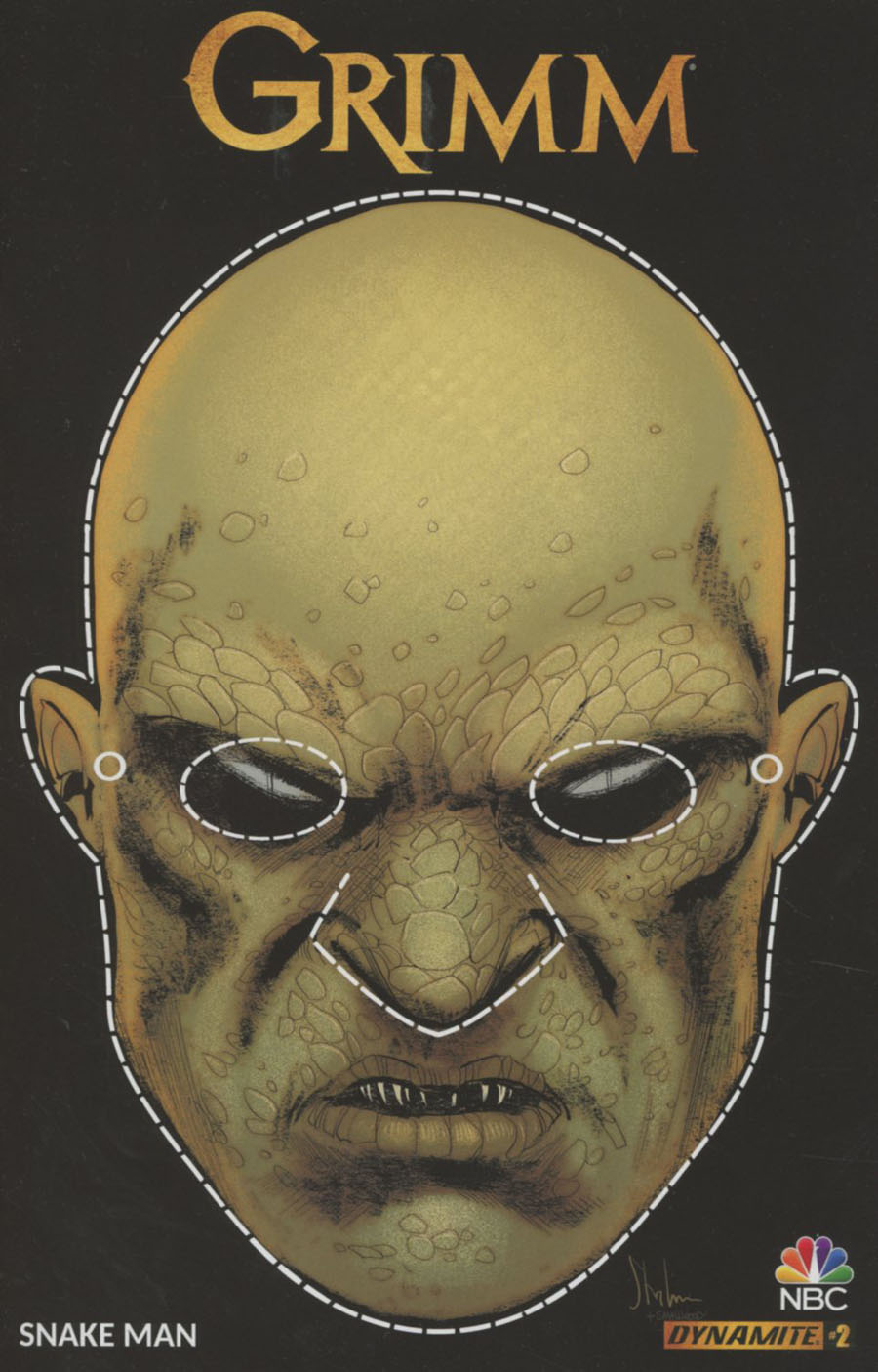 Grimm Vol 2 #2 Cover B Variant Kyle Strahm Mask Cover