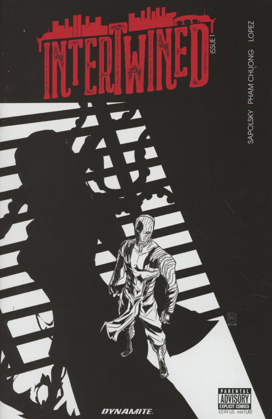Intertwined #1 Cover B Variant Fred Pham Chuong Noir Homage Cover