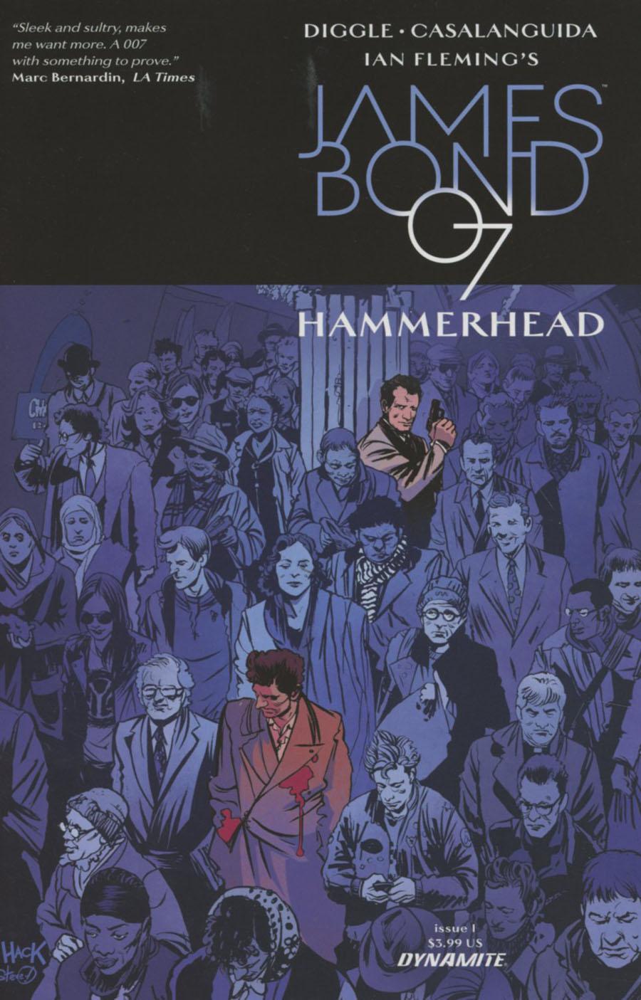 James Bond Hammerhead #1 Cover B Variant Robert Hack Cover