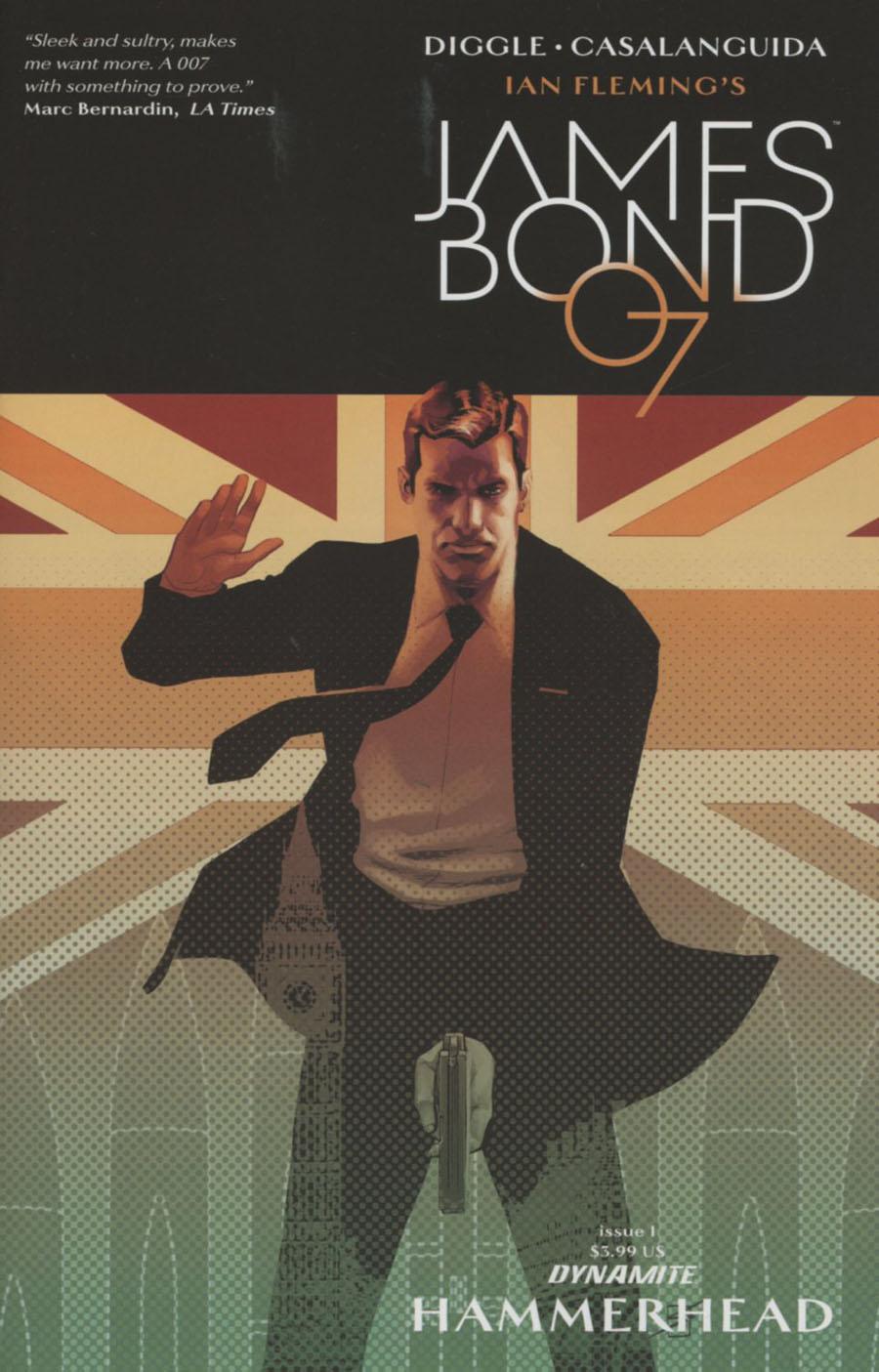 James Bond Hammerhead #1 Cover C Variant Ron Salas Cover