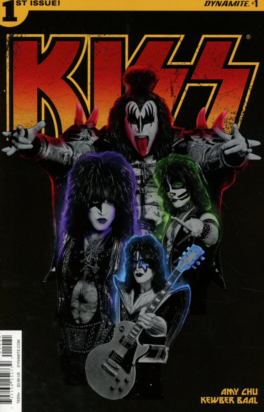 KISS Vol 3 #1 Cover I Variant Photo Cover