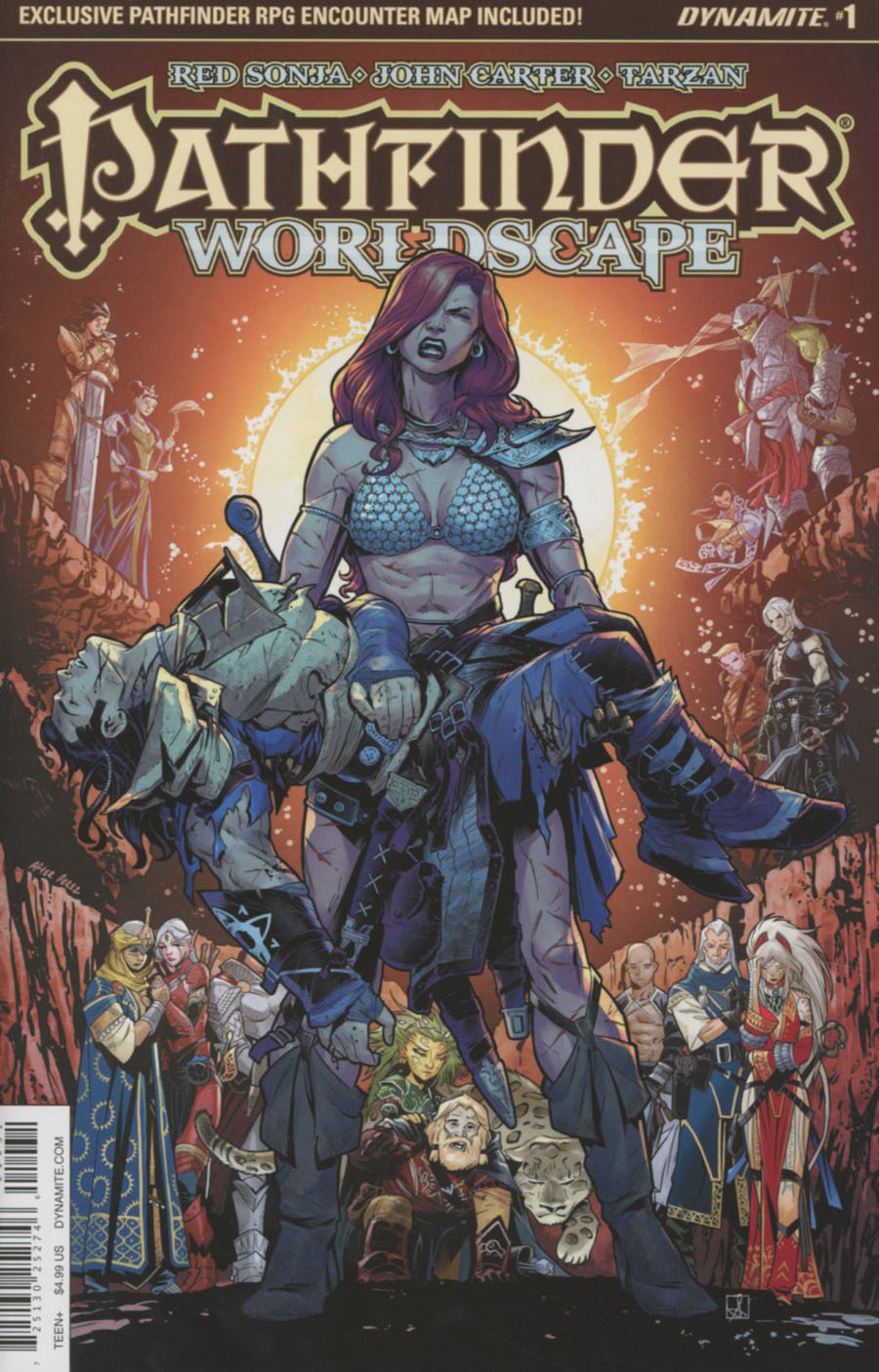 Pathfinder Worldscape #1 Cover C Variant Sean Izaakse Subscription Cover