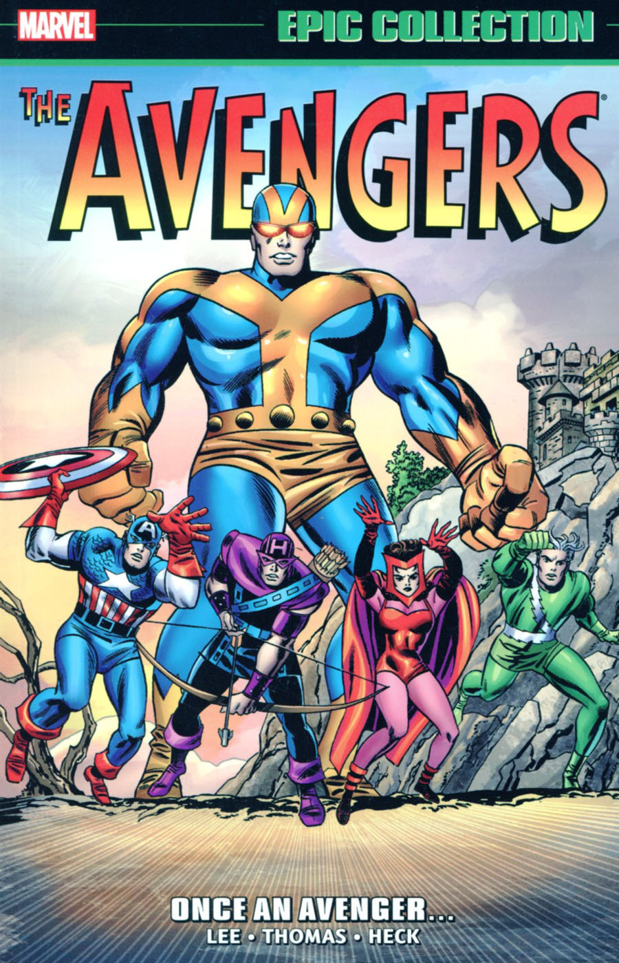Avengers Epic Collection Vol 2 Once An Avenger TP