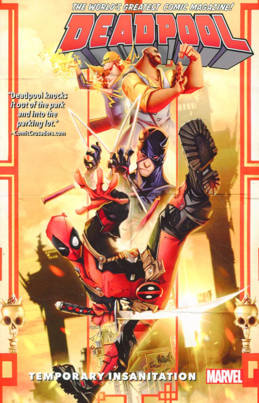 Deadpool Worlds Greatest Vol 4 Temporary Insanitation TP