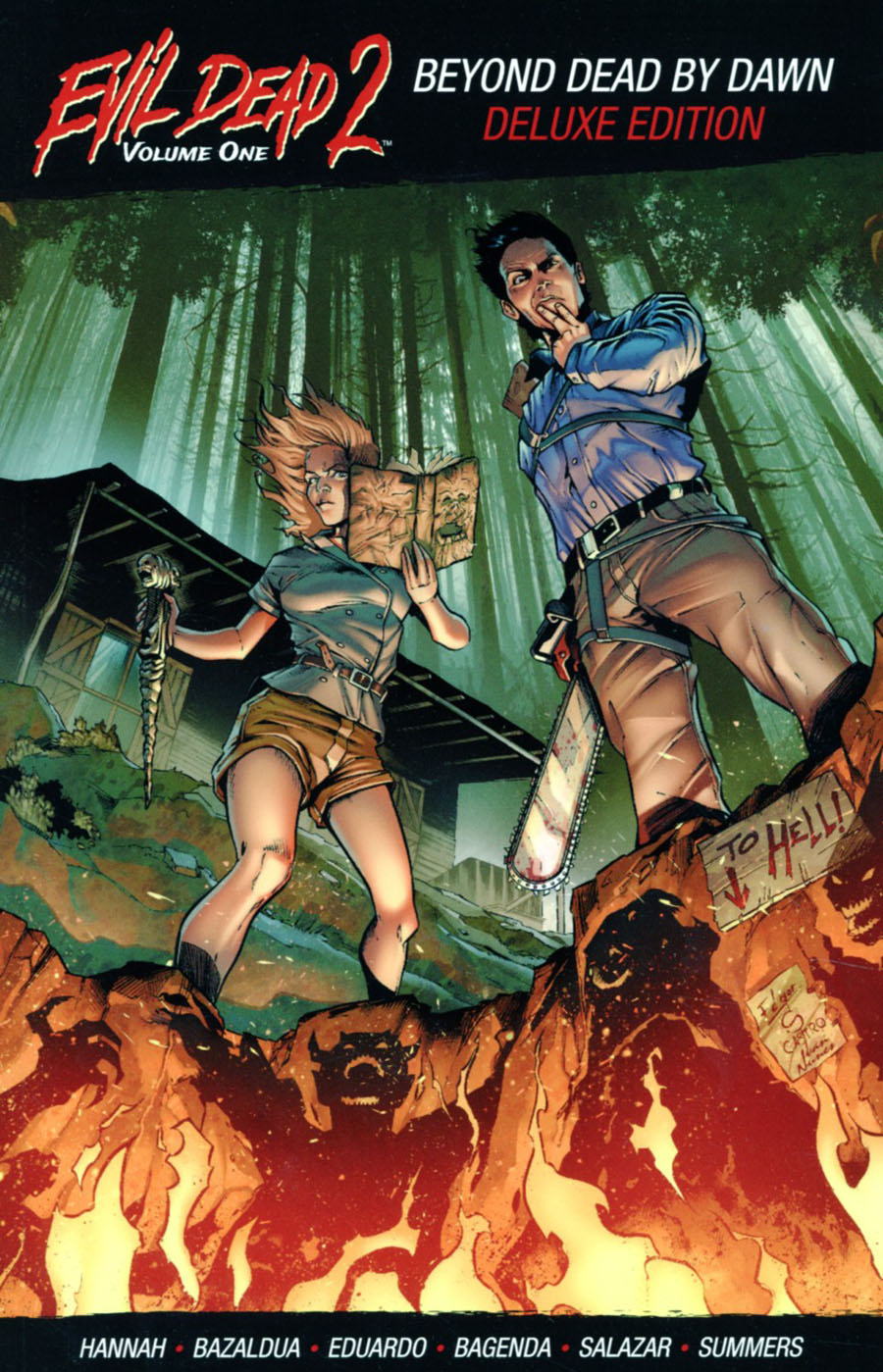 Evil Dead 2 Vol 1 Beyond Dead By Dawn TP Deluxe Edition