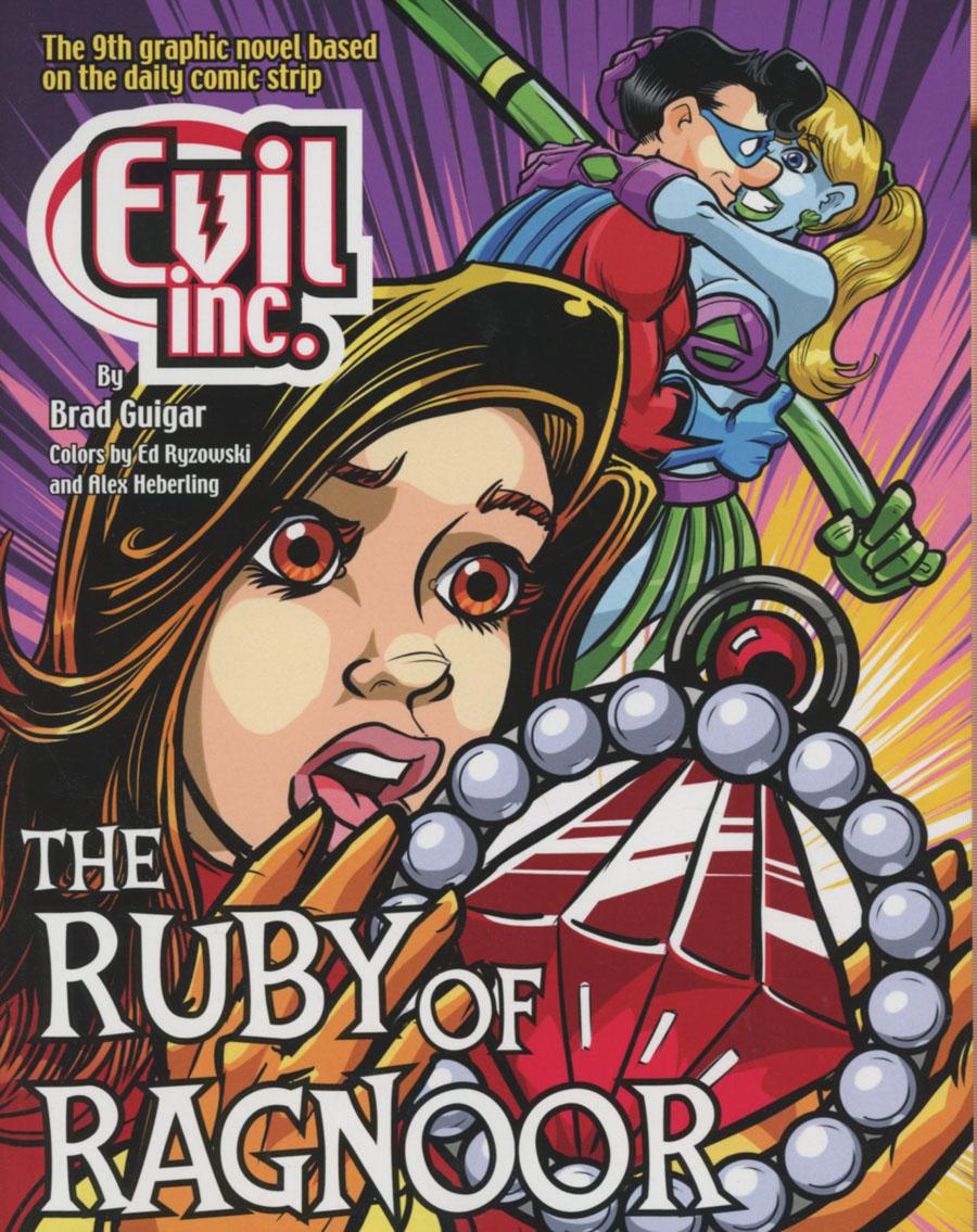 Evil Inc Annual Report Vol 9 Ruby Of Ragnoor TP