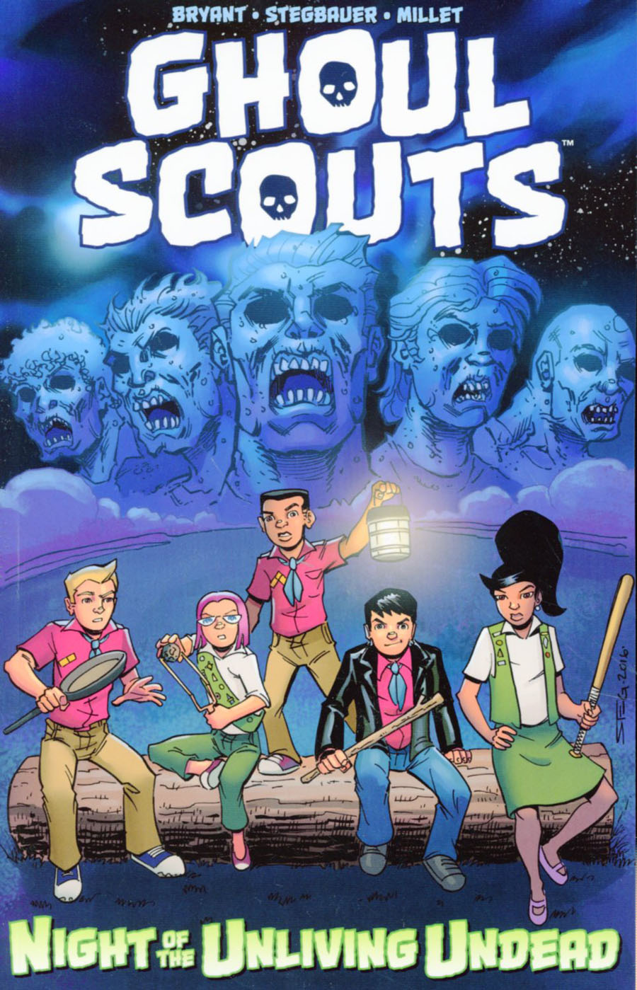 Ghoul Scouts Vol 1 Night Of The Unliving Undead TP
