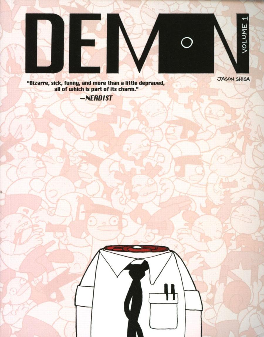 Jason Shiga Demon Vol 1 TP