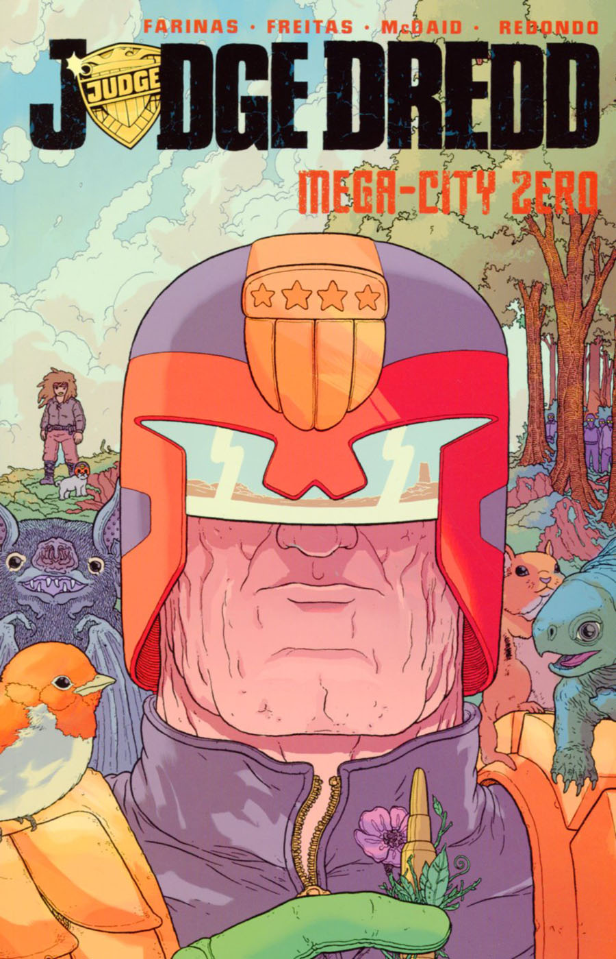 Judge Dredd Mega-City Zero Vol 2 TP
