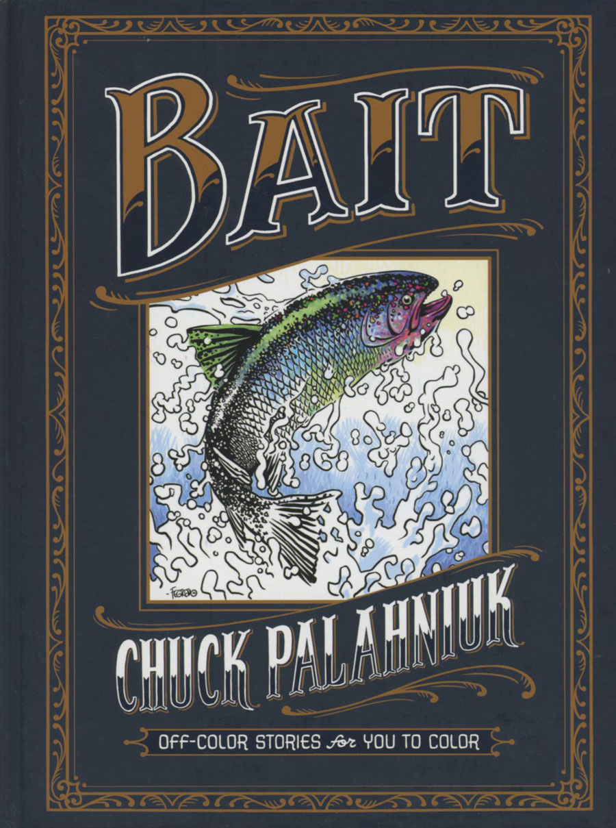 Bait Off-Color Stories For You To Color HC