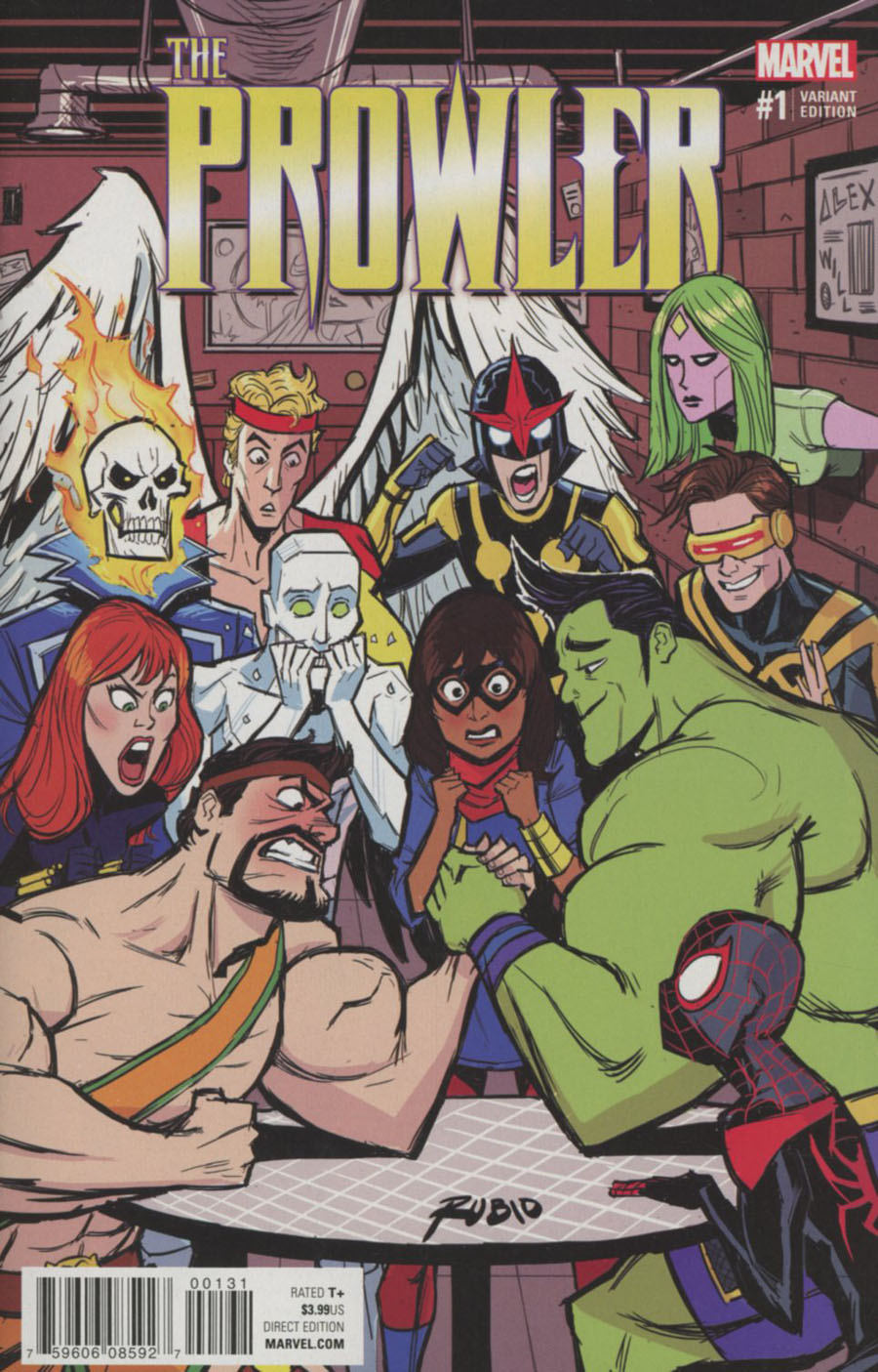 Prowler (Marvel) Vol 2 #1 Cover C Variant Champions Cover (Clone Conspiracy Tie-In)