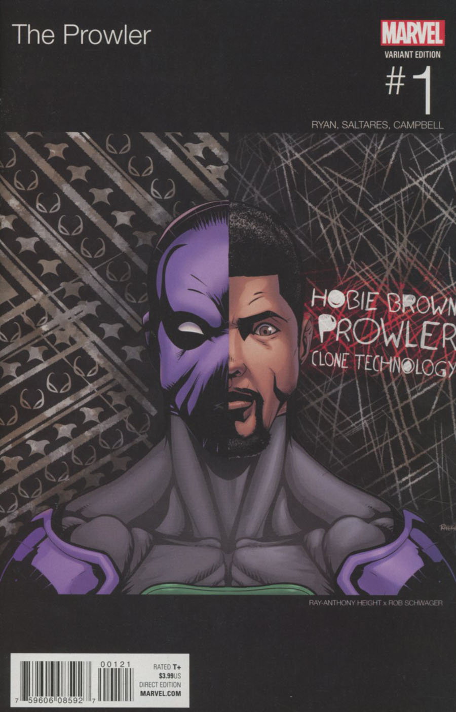 Prowler (Marvel) Vol 2 #1 Cover B Variant Marvel Hip-Hop Cover (Clone Conspiracy Tie-In)
