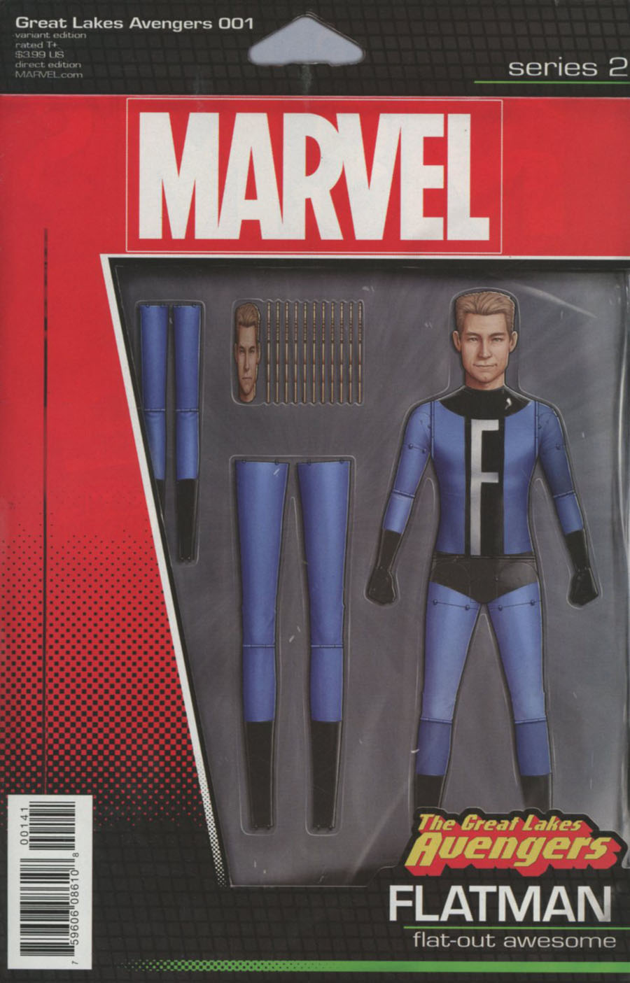Great Lakes Avengers #1 Cover D Variant John Tyler Christopher Action Figure Cover (Marvel Now Tie-In)