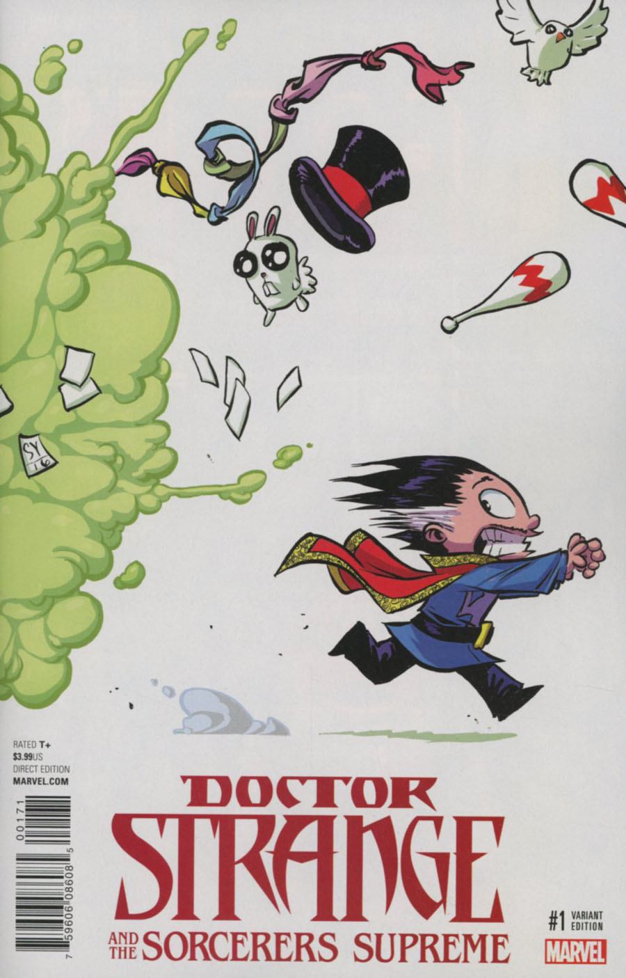 Doctor Strange And The Sorcerers Supreme #1 Cover E Variant Skottie Young Baby Cover (Marvel Now Tie-In)