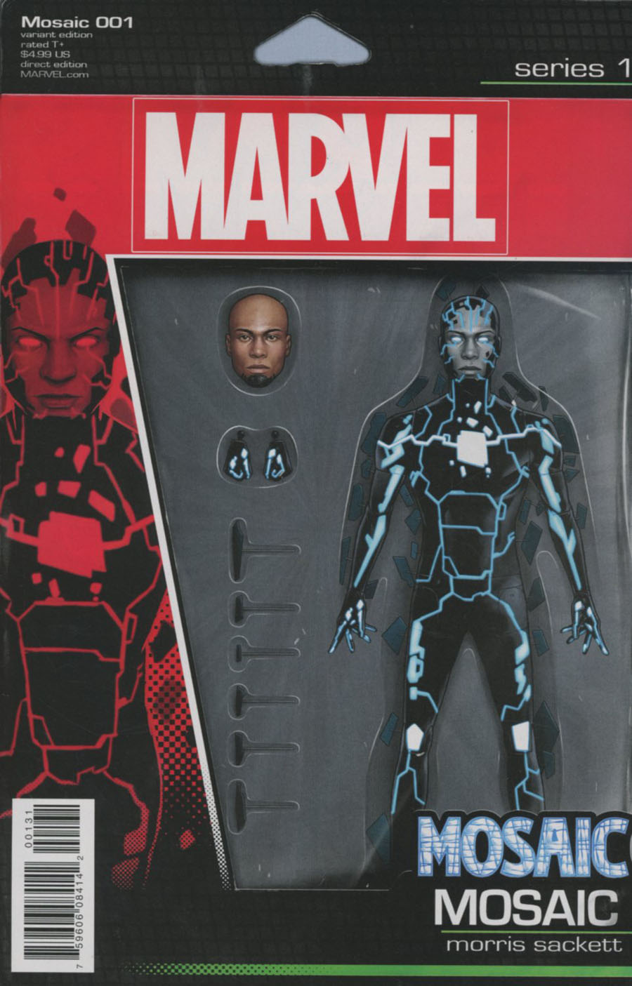 Mosaic #1 Cover C Variant John Tyler Christopher Action Figure Cover (Marvel Now Tie-In)