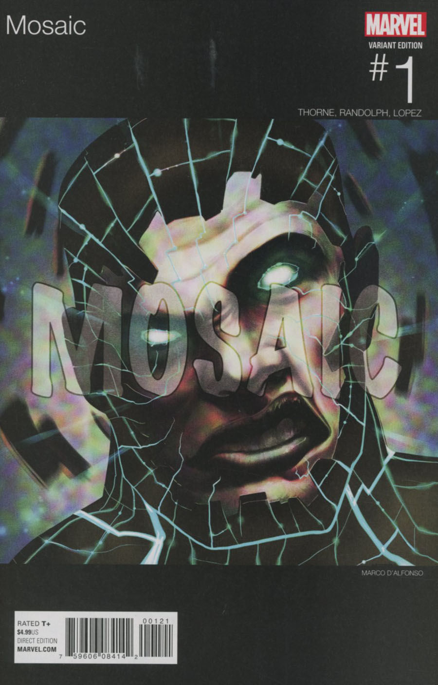 Mosaic #1 Cover B Variant Marco DAlfonso Marvel Hip-Hop Cover (Marvel Now Tie-In)