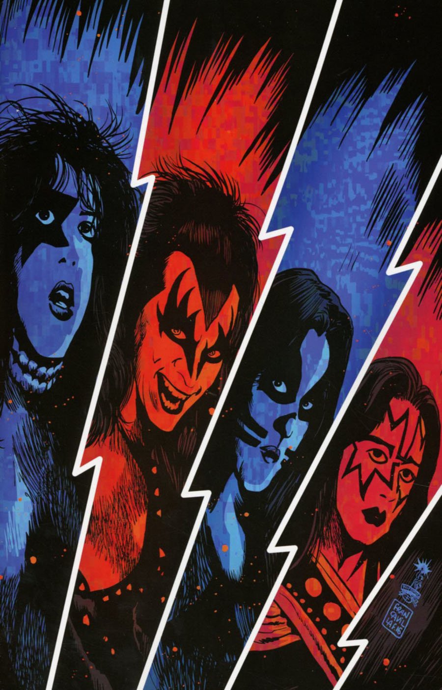 KISS Vol 3 #1 Cover N Incentive Francesco Francavilla Virgin Cover
