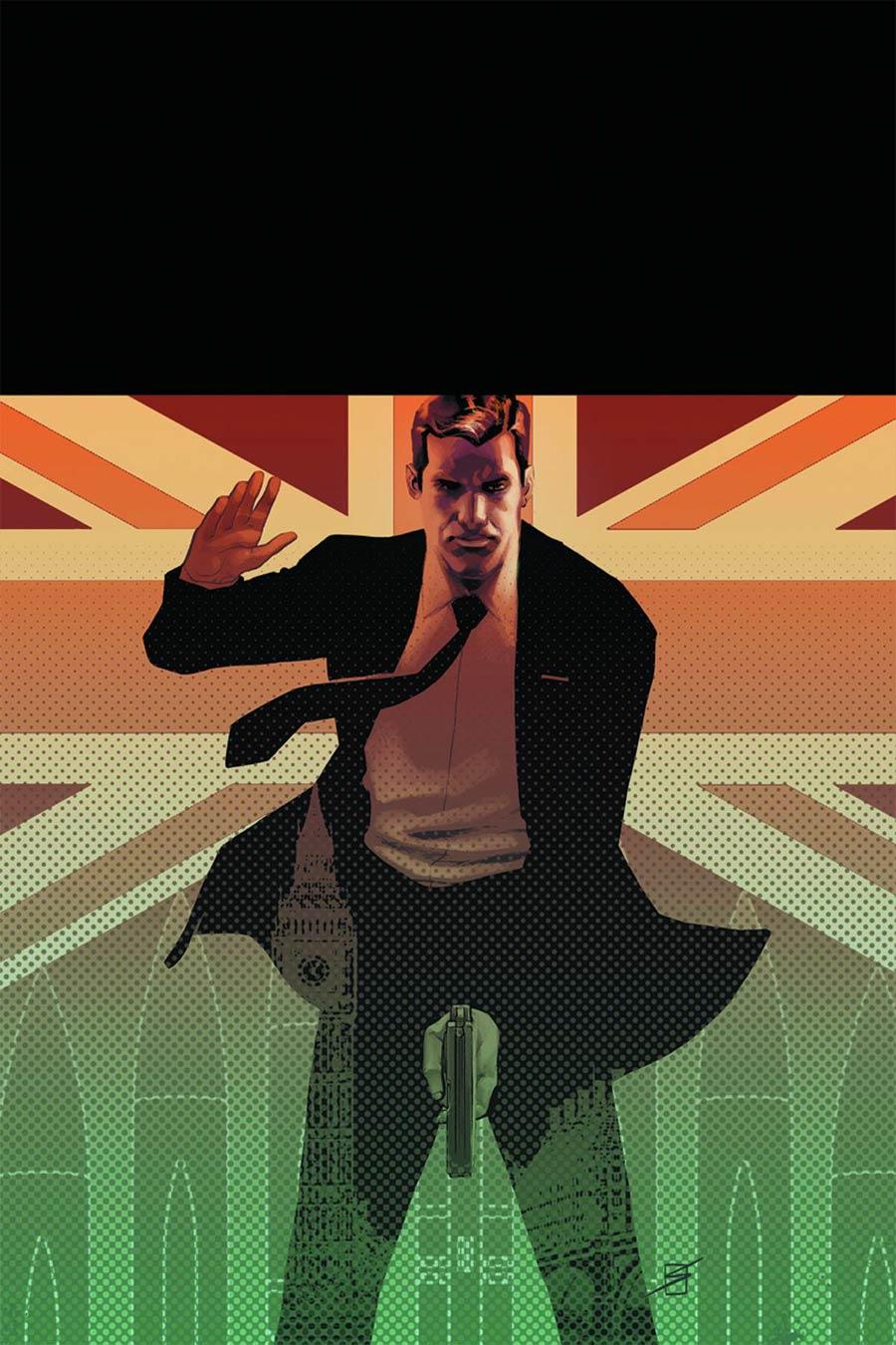 James Bond Hammerhead #1 Cover F Incentive Ron Salas Virgin Cover