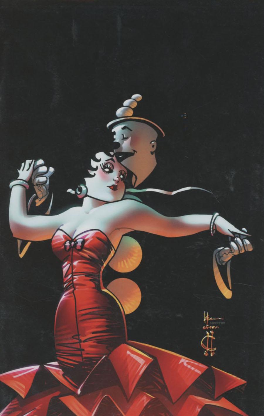 Betty Boop #1 Cover J DF Exclusive Howard Chaykin Virgin Cover