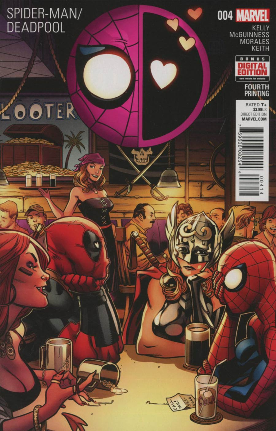 Spider-Man Deadpool #4 Cover D 4th Ptg Ed McGuinness Variant Cover