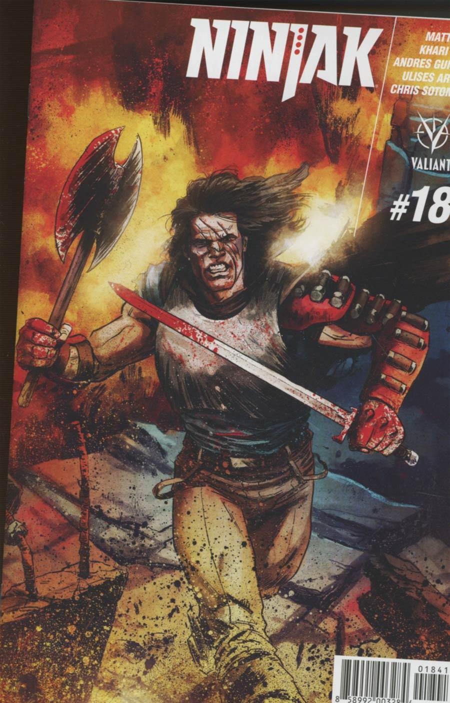 Ninjak Vol 3 #18 Cover D Incentive Adam Gorham Interlocking A Variant Cover