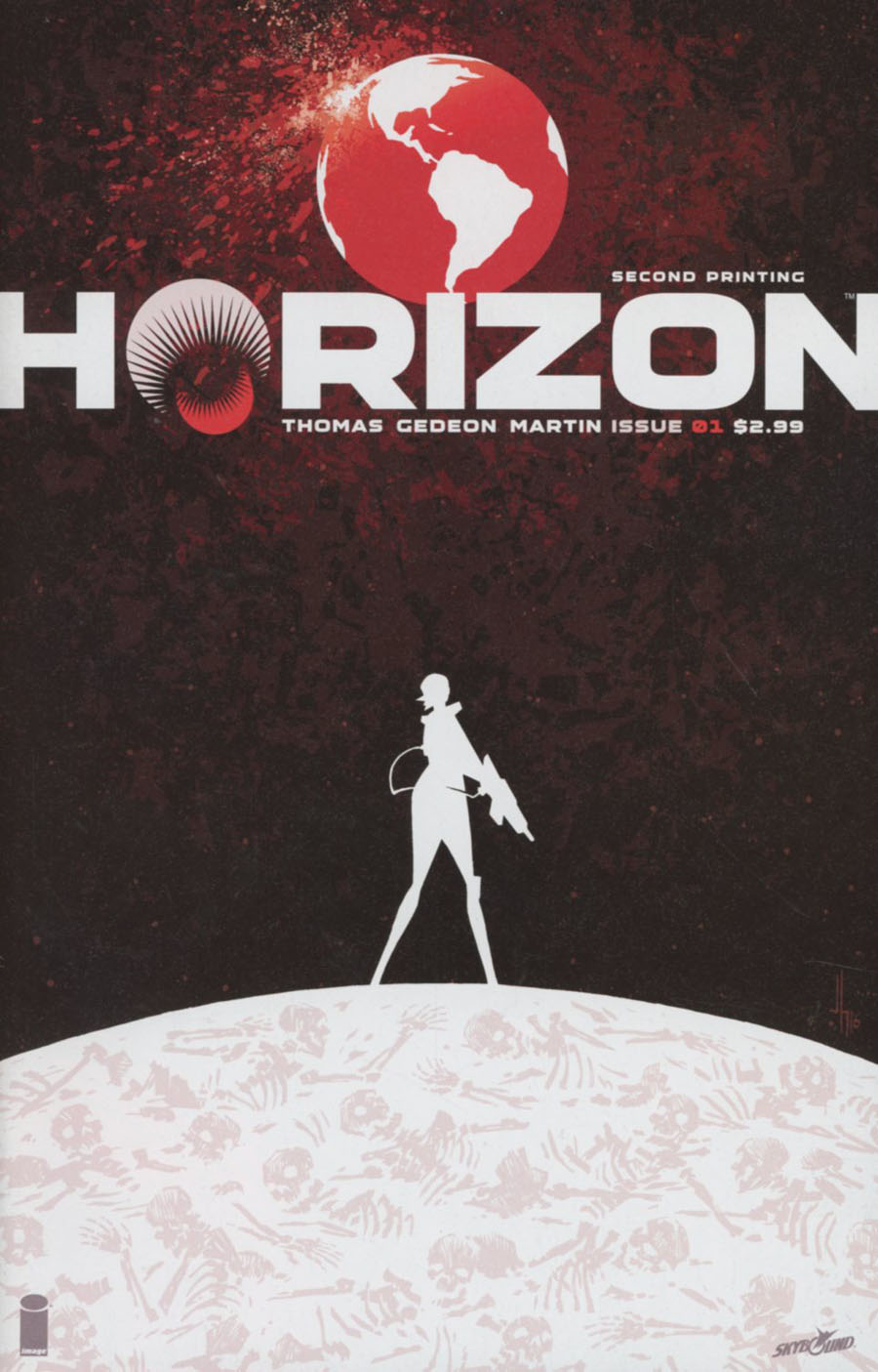 Horizon #1 Cover B 2nd Ptg Jason Howard Variant Cover