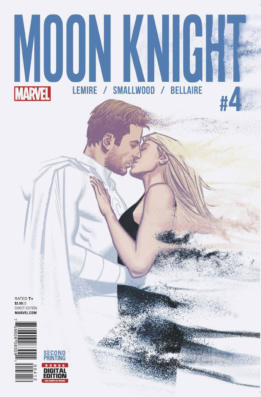 Moon Knight Vol 8 #4 Cover B 2nd Ptg Greg Smallwood Variant Cover
