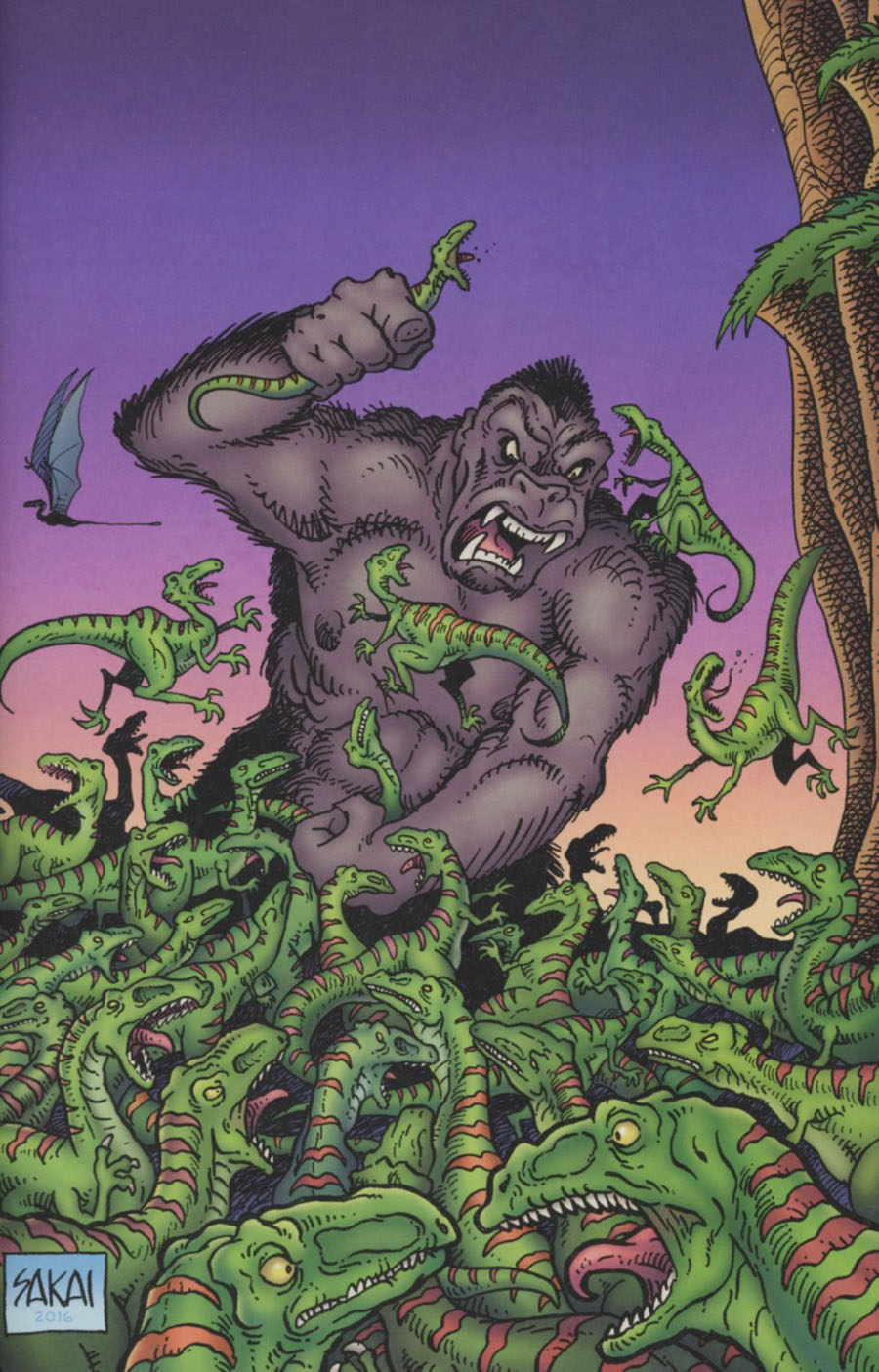 Kong Of Skull Island #2 Cover B Incentive Stan Sakai Virgin Variant Cover