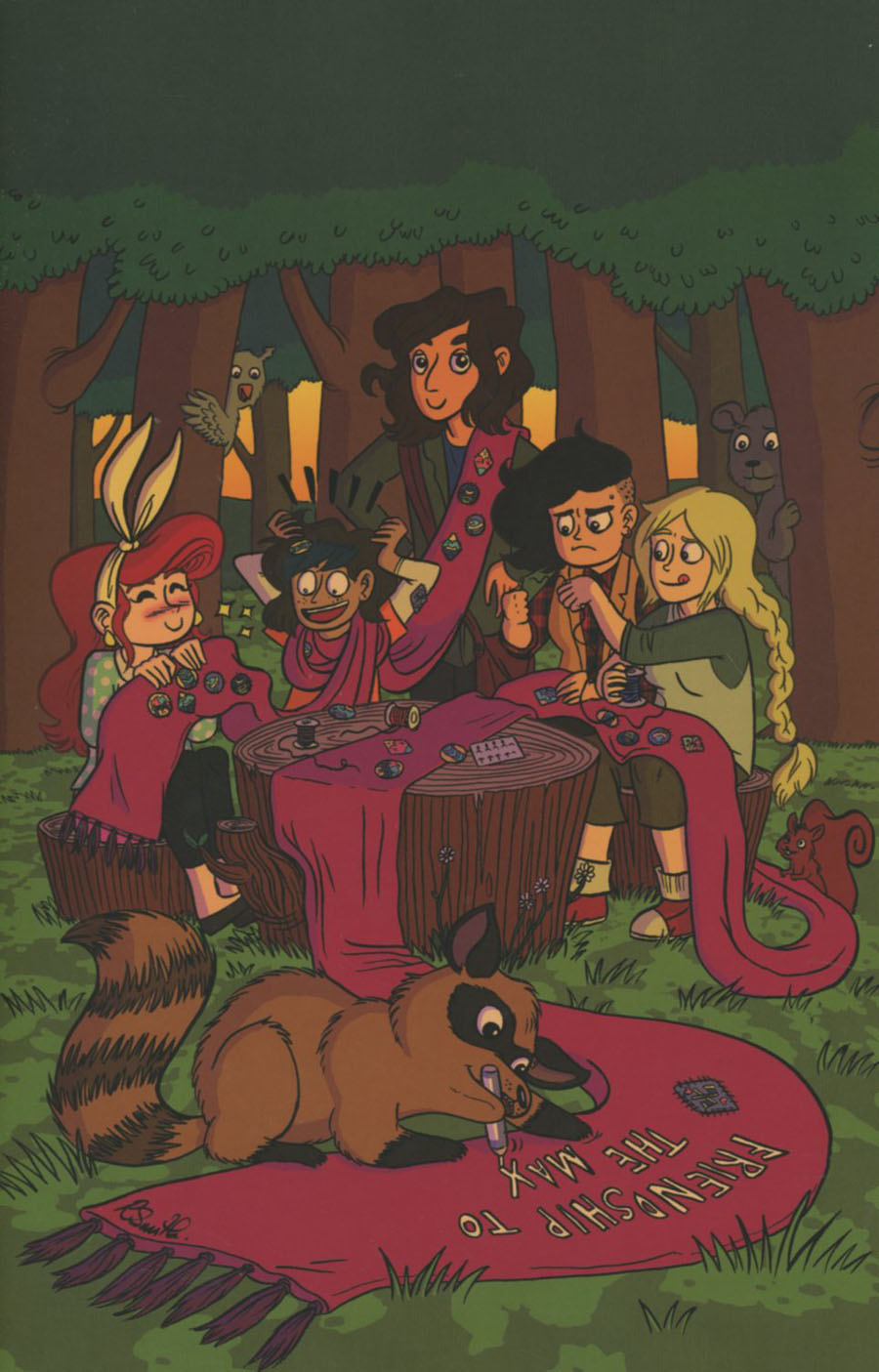 Lumberjanes #29 Cover B Incentive Rachael Smith Virgin Variant Cover